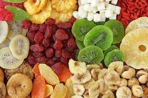 fruta deshidratada instantia