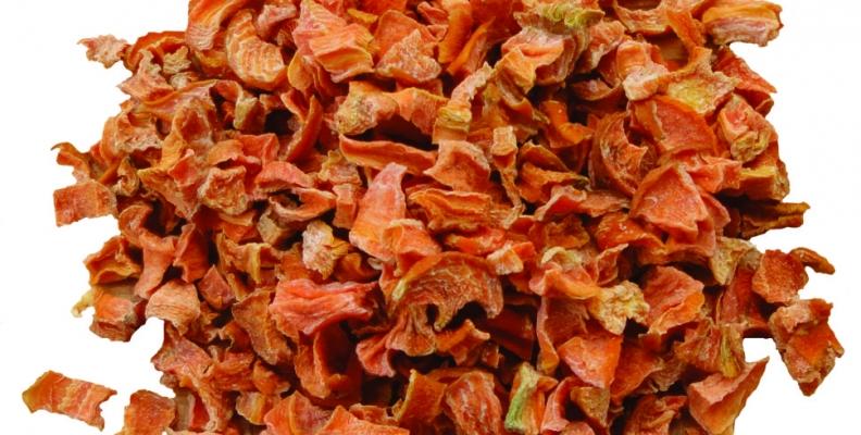 Sobre la zanahoria deshidratada
